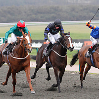 Lionrock and Joe Fanning winning the 3.05 race