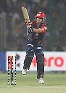 IPL 2012 Match 64 Delhi Daredevils v Kings XI Punjab