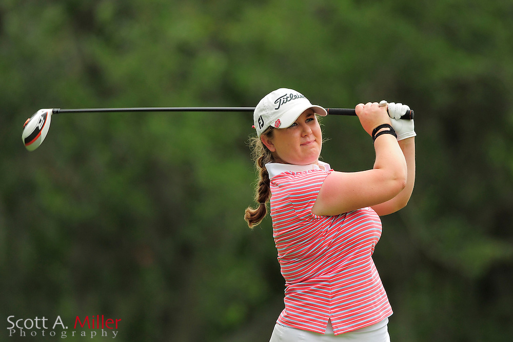 Jordan Rose during the second round of the Symetra Tour's Guardian Retirement Championship at Sara Bay in Sarasota, Florida April 27, 2013. ..©2013 Scott A. Miller