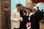 NICHOLAS CULLINAN, FRANCES VON HOFMANNSTAL,  RA Annual dinner 2018. Piccadilly, 5 June 2018.