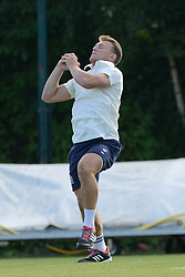 Nick Carpenter of Bristol Rugby takes a catch during an exhibition game against Bishopston Cricket club  - Photo mandatory by-line: Dougie Allward/JMP - Mobile: 07966 386802 - 29/07/2015 - SPORT - Cricket - Bristol - Westbury Fields - Bishopston CC v Bristol Rugby - Exhibition Game
