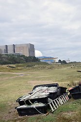 Sizewell A & B nuclear power stataion, Suffolk UK
