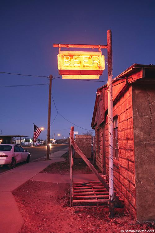 Lost Horse Bar, Marfa, Texas