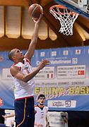 DESCRIZIONE : Bormio Lega A 2014-15 amichevole Acea Virtus Roma - Darussafaka Dogus<br /> GIOCATORE : Daniele Sandri<br /> CATEGORIA : before riscaldamento<br /> SQUADRA : Acea Virtus Roma<br /> EVENTO : Valtellina Basket Circuit 2014<br /> GARA : Acea Virtus Roma - Darussafaka Dogus<br /> DATA : 03/09/2014<br /> SPORT : Pallacanestro <br /> AUTORE : Agenzia Ciamillo-Castoria/R.Morgano<br /> Galleria : Lega Basket A 2014-2015  <br /> Fotonotizia : Bormio Lega A 2014-15 amichevole Acea Virtus Roma - Darussafaka Dogus<br /> Predefinita :