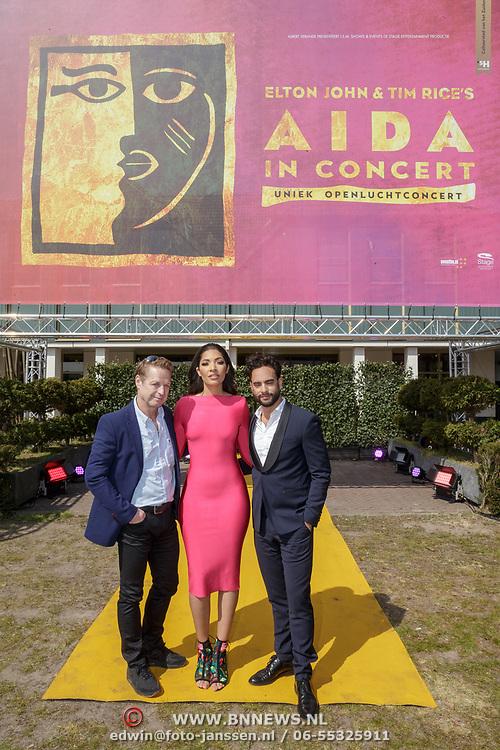 NLD/Rosmalen/20190416 - persmiddag Aida in Concert, presentatie Tony Neef, April Darby en Freek Bartels