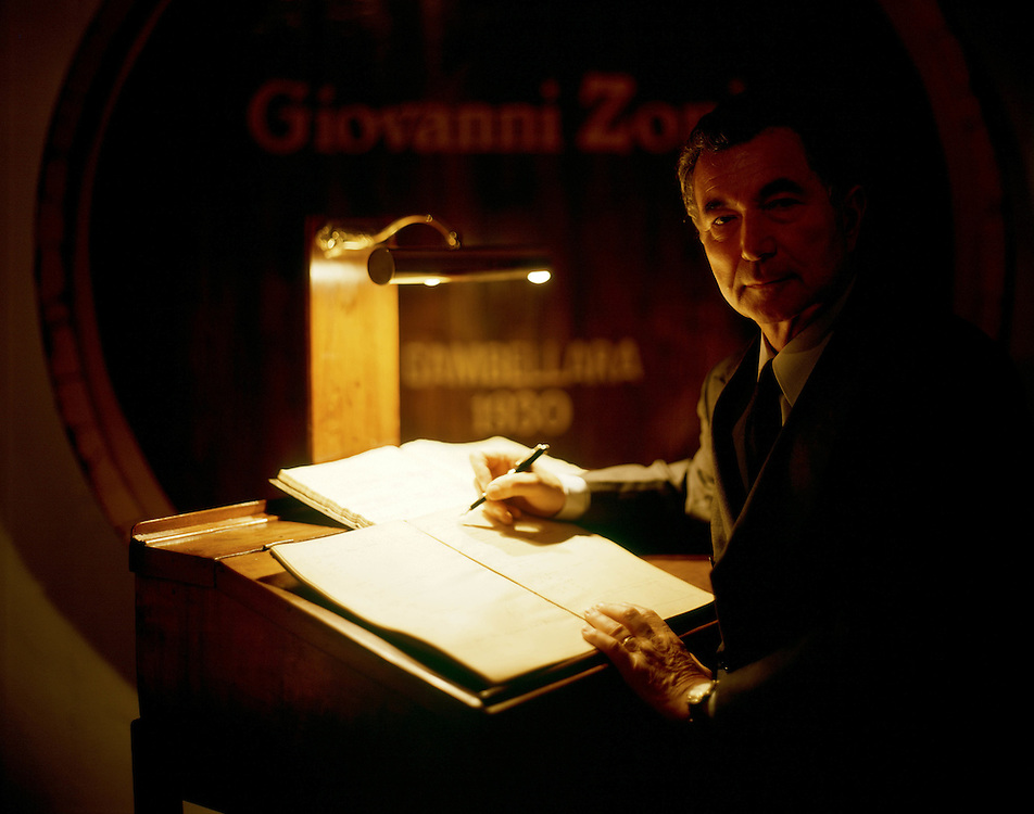 "13 MAR 2000 - Gambellara (VI) - ""Casa Vincola Zonin"": Gianni Zonin."