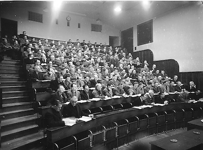 Annual Congress and Election at Gresham Hotel in Dublin..09.04.1955  9th April 1955