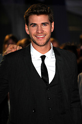 Liam Hemsworth  at the premiere of The Hunger Games in  London, Wednesday 14th March 2012. Photo by: i-Images