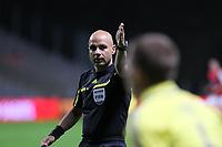 20111103 Braga: SC Braga vs. NK Maribor, UEFA Europa League, Group H, 4th round. In picture: Referee Leontios Trattou. Photo: Pedro Benavente/Cityfiles
