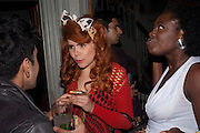 PALOMA FAITH; BABY SOL, MARK FAST party, PARADISE, KENSAL GREEN. London. 28 July 2011. <br /> <br />  , -DO NOT ARCHIVE-© Copyright Photograph by Dafydd Jones. 248 Clapham Rd. London SW9 0PZ. Tel 0207 820 0771. www.dafjones.com.