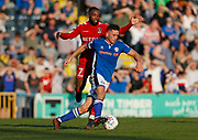 Ian Henderson of Rochdale during the EFL Sky Bet League 1 match between Rochdale and Charlton Athletic at Spotland, Rochdale, England on 5 May 2018. Picture by Paul Thompson.