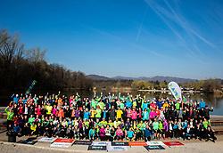Priprave za Ljubljanski maraton 2019 v sodelovanju s podjetjem Electrolux, on March 30, 2019, in Mostec, Ljubljana, Slovenia. Photo by Vid Ponikvar / Sportida