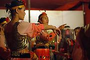 Bellucci Circus performed in Tel Aviv, Israel in April Chinese acrobat