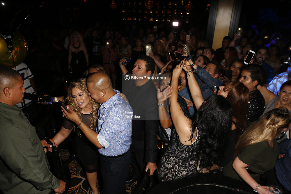 ANAHEIM, CA - JUNE 23: Chiquis Rivera celebrates her birthday at the Rumba Room LIVE on Friday June 23, 2017, in Anaheim, California. Byline, credit, TV usage, web usage or linkback must read SILVEXPHOTO.COM. Failure to byline correctly will incur double the agreed fee. Tel: +1 714 504 6870.