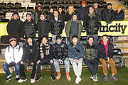 Uni group visit during the EFL Sky Bet League 2 match between Forest Green Rovers and Port Vale at the New Lawn, Forest Green, United Kingdom on 11 February 2020