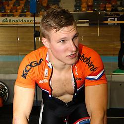 28-12-2014: Wielrennen: NK Baanwielrennen: Apeldoorn Jeffrey Hoogland