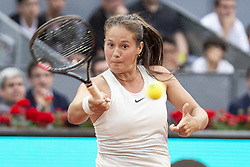 May 9, 2018 - Madrid, Spain - Russian Daria Kasatkina during Mutua Madrid Open 2018 at Caja Magica in Madrid, Spain. May 09, 2018. (Credit Image: © Coolmedia/NurPhoto via ZUMA Press)