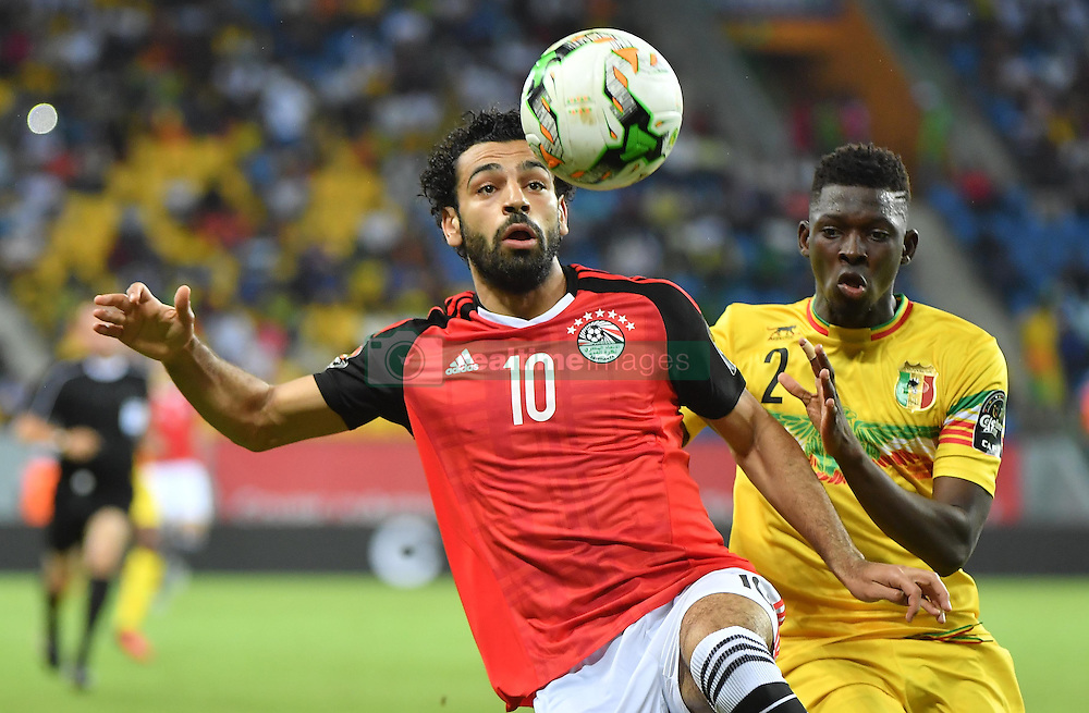 January 17, 2017 - France - Egypte - M. Salah vs Mali - H. Traore (Credit Image: © Panoramic via ZUMA Press)