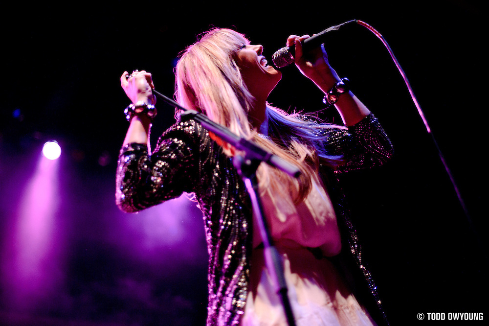 Photos of Grace Potter and The Nocturnals performing at the Pageant in St. Louis on September 24, 2010.