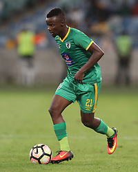Sipho Moeti of Baroka FC during the 2016 Premier Soccer League match between Kaizer Chiefs and Baroka FC held at the Moses Mabhida Stadium in Durban, South Africa on the 2nd November 2016<br /> <br /> Photo by:   Steve Haag / Real Time Images