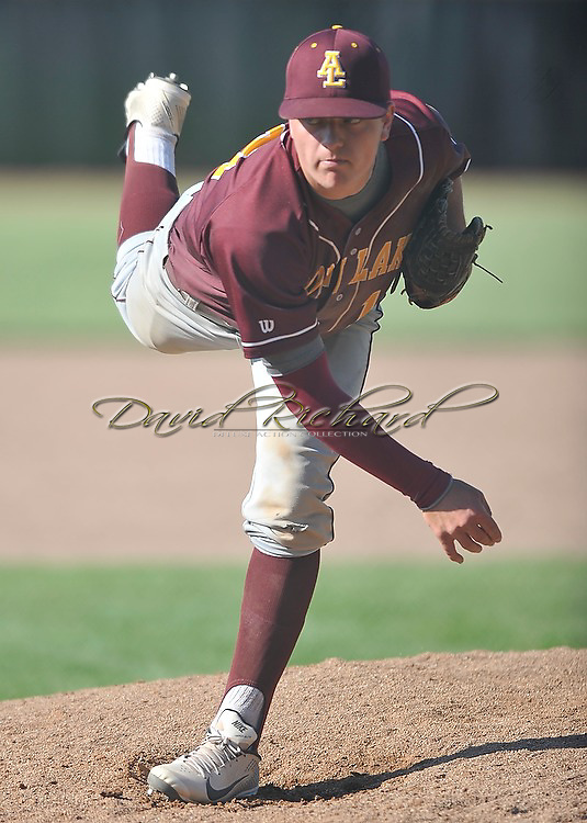 Lorain Titans at Avon Lake Shoremen varsity baseball on May 16, 2013 at Avon Lake High..© David Richard