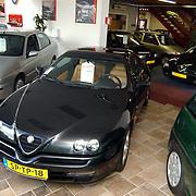 Alfa Romeo garage auto Portello aan de Industrieweg 5 in Renkum