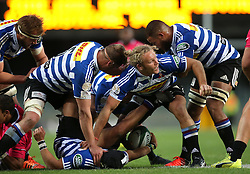Western Province players protect the ball during the Currie Cup Premier Division match between the DHL Western Province and the Pumas held at the DHL Newlands rugby stadium in Cape Town, South Africa on the 17th September  2016<br /> <br /> Photo by: Shaun Roy / RealTime Images