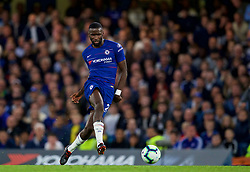 LONDON, ENGLAND - Saturday, September 29, 2018: Chelsea's Antonio Rüdiger during the FA Premier League match between Chelsea FC and Liverpool FC at Stamford Bridge. (Pic by David Rawcliffe/Propaganda)