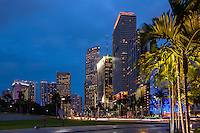Downtown Miami Florida photo by Architectural and Interior Design Photographer Jeffrey Sauers of Commercial Photographics