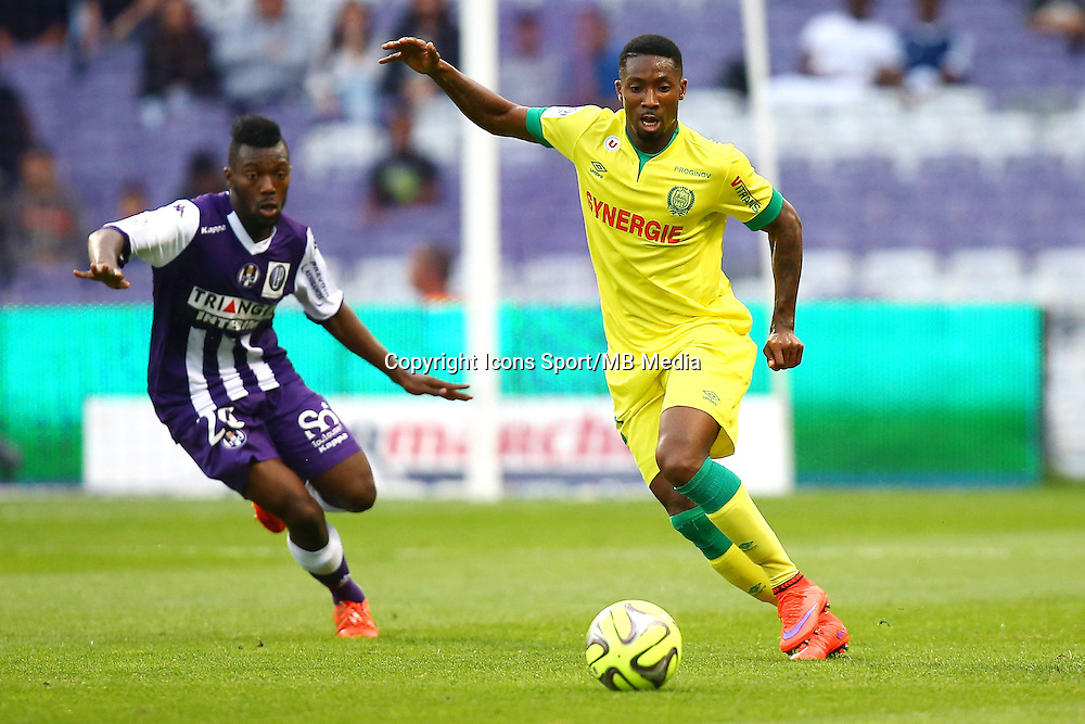Serge Gakpe - 25.04.2015 - Toulouse / Nantes - 34eme journee de Ligue 1<br />