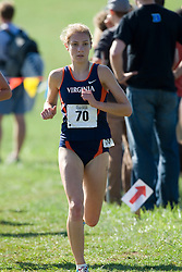 Virginia Cavaliers Susan Brooks (70)..The Atlantic Coast Conference Cross Country Championships were held at Panorama Farms near Charlottesville, VA on October 27, 2007.  The men raced an 8 kilometer course while the women raced a 6k course.