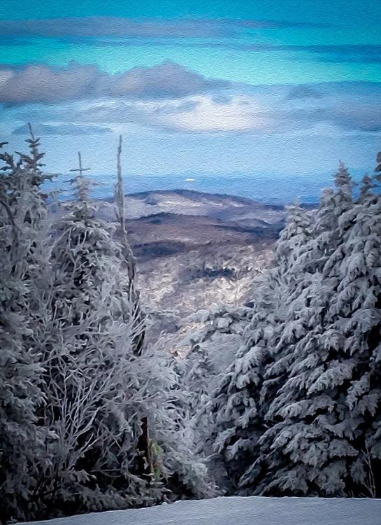 Fine art of USA Vermont summers