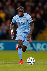 Bacary Sagna of Manchester City in action - Photo mandatory by-line: Rogan Thomson/JMP - 07966 386802 - 06/04/2015 - SPORT - FOOTBALL - London, England - Selhurst Park - Crystal Palace v Manchester City - Barclays Premier League.