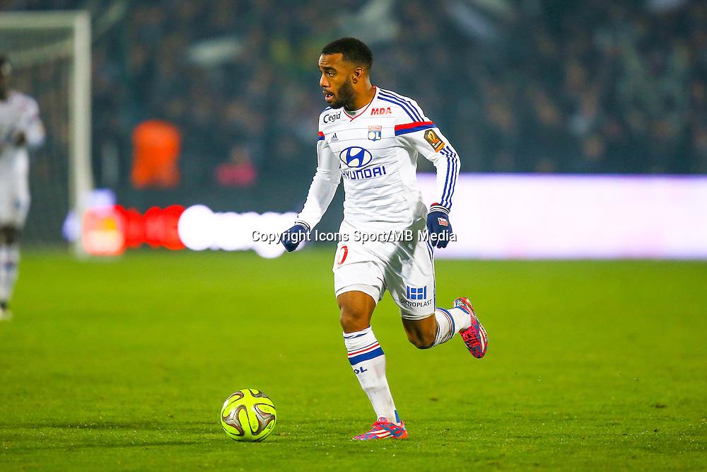 Alexandre Lacazette  - 21.12.2014 - Bordeaux / Lyon - 19eme journee de Ligue 1 -<br /> Photo : Manuel Blondeau / Icon Sport