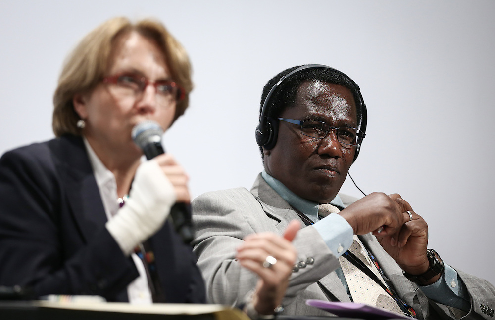 04 June 2015 - Belgium - Brussels - European Development Days - EDD - Climate - A climate change agreement - Towards Paris and beyond - Cabinet Secretary for Ministry of Environment , Water and Natural Resources , Kenya © European Union