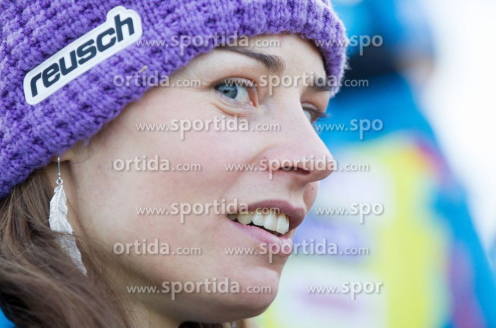 "MAZE Tina of Slovenia after she competed during the 2nd Run of FIS Alpine Ski World Cup 7th Ladies' Giant Slalom race named ""49th Golden Fox 2013"", on January 26, 2013 in Mariborsko Pohorje, Maribor, Slovenia. (Photo By Vid Ponikvar / Sportida.com)"