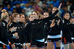15-12-2019 JAP: Final Netherlands - Spain, Kumamoto<br /> The Netherlands beat Spain in the final and take historic gold in Park Dome at 24th IHF Women's Handball World Championship / Lois Abbingh #8 of Netherlands