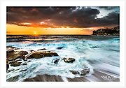 A spring sunrise at Bronte Beach [Bronte, NSW, Australia]<br />
