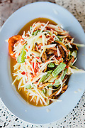 Som tam (papaya salad), Udon Thani