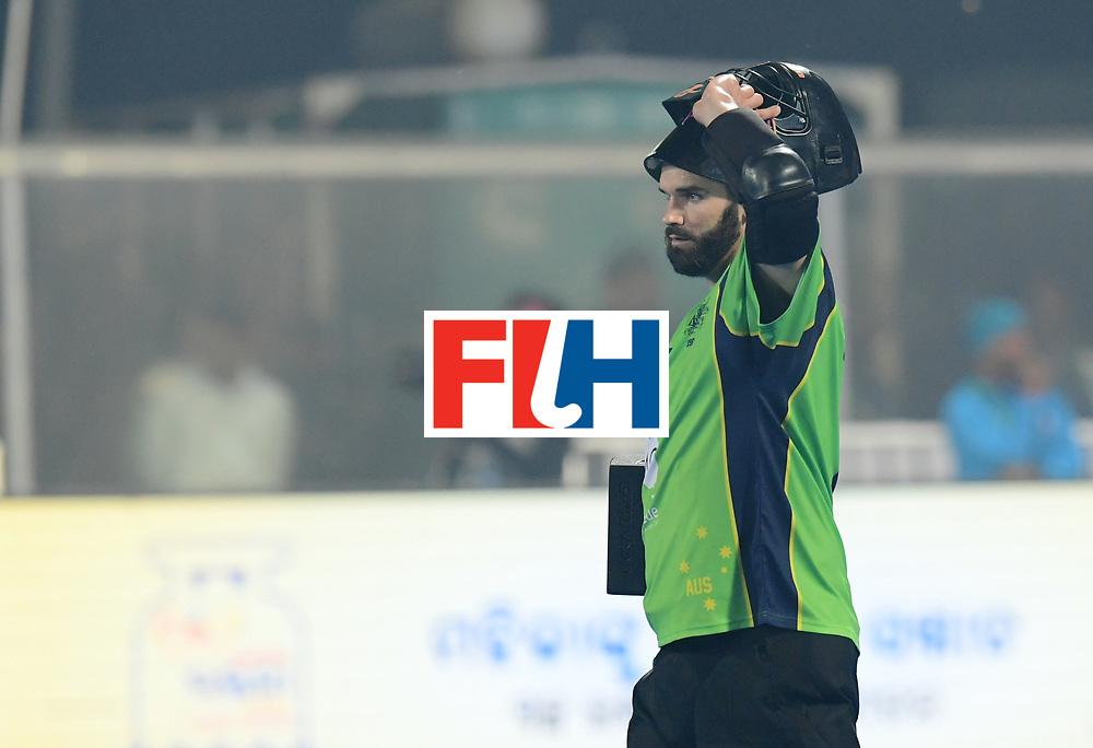 Odisha Men's Hockey World League Final Bhubaneswar 2017<br /> Match id:09<br /> Australia v England<br /> Foto: keeper Tristan Clemons (Aus) <br /> WORLDSPORTPICS COPYRIGHT FRANK UIJLENBROEK