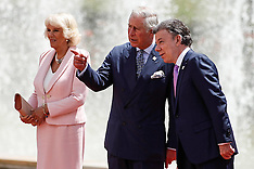 OCT 29 2014 Prince Charles & Camila meet with Colombian President
