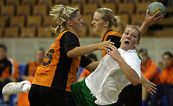 Nina Jericek of Olimpija at  handball game between women team RK Olimpija vs ZRK Brezice at 1st round of National Championship, on September 13, 2008, in Arena Tivoli, Ljubljana, Slovenija. (Photo by Vid Ponikvar / Sportal Images)