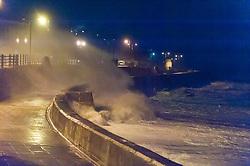 21/10/2017. Porthcawl, Bridgend, Wales, UK. Gale force winds and massive waves trom Storm Brian batter the South Wales coastline. Photo credit: Graham M. Lawrence/LNP