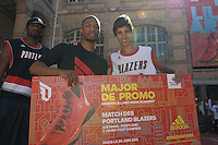 Damian Lillard / Walid Touahri - 30.06.2015 - Lillard Take On Paris<br />