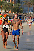 Exclusive -  Charlie Doherty pictured with New man in Magaluf