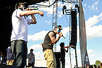 Hollywood Undead perform at Pointfest 26 at Verizon Wireless Amphitheater in St. Louis on June 6, 2010