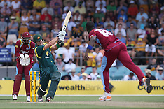 One Day International Cricket - Australia v West Indies (6 Feb 2013)