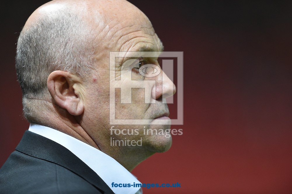 Hull City manager Mike Phelan during the EFL Cup match at Ashton Gate, Bristol<br /> Picture by Daniel Hambury/Focus Images Ltd +44 7813 022858<br /> 25/10/2016