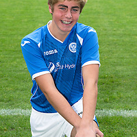 St Johnstone FC Academy Under 17s<br /> Shaun Struthers<br /> Picture by Graeme Hart.<br /> Copyright Perthshire Picture Agency<br /> Tel: 01738 623350  Mobile: 07990 594431