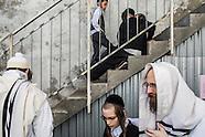 Hasidic Pilgrims in Uman for Rosh Hashanah